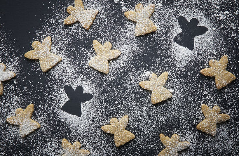 Spiced Angel Biscuits