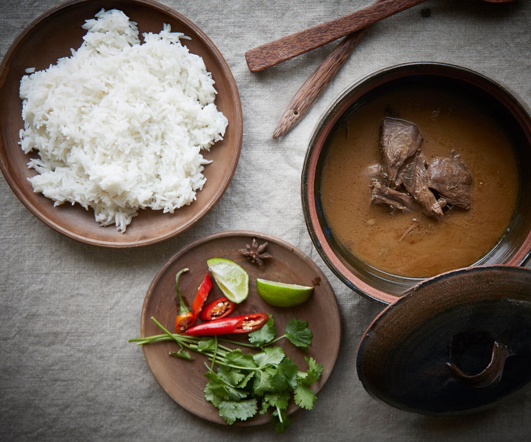 Spiced Duck and Coconut Curry