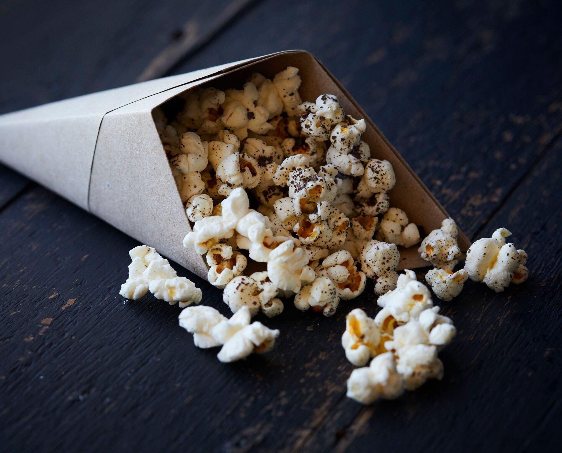 Simply Salty Popcorn