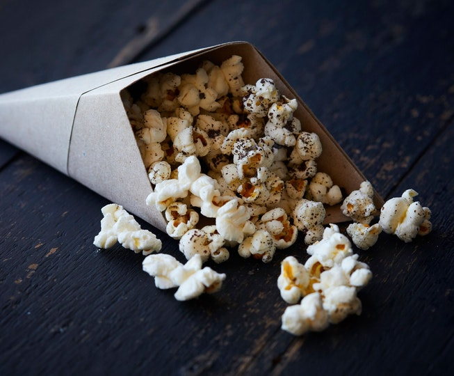 Simply Salty Popcorn