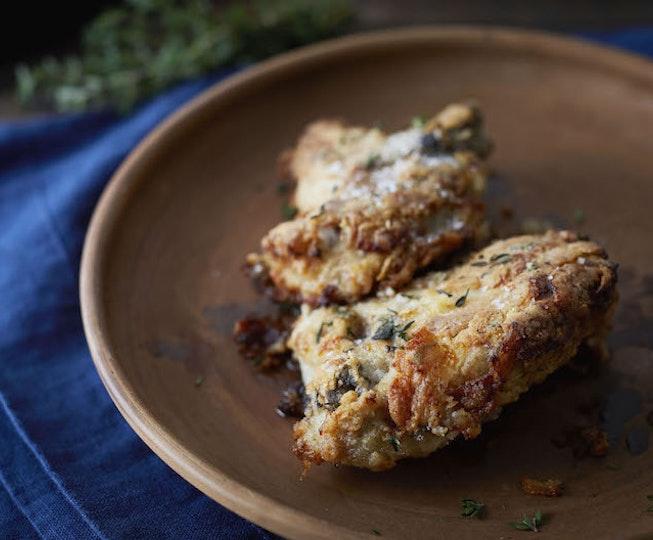Crispy Buttermilk Chicken