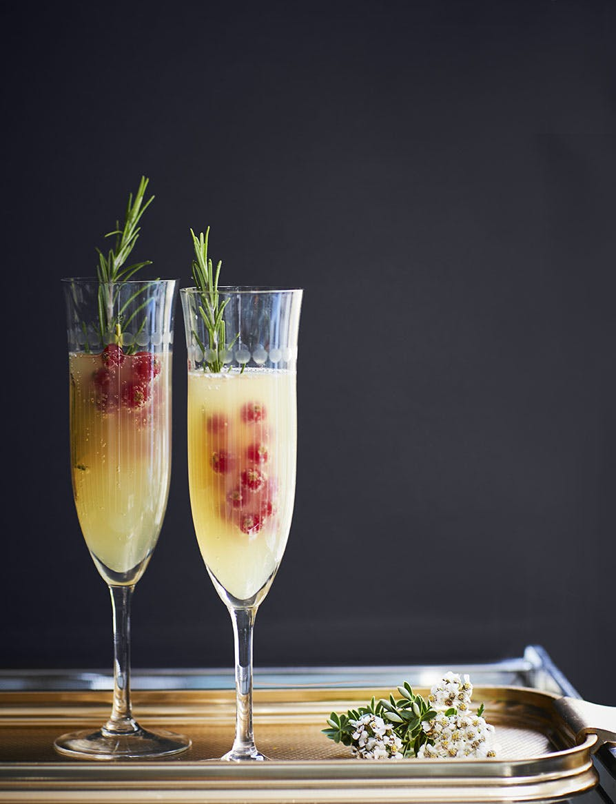 Pear & Ginger Bellini