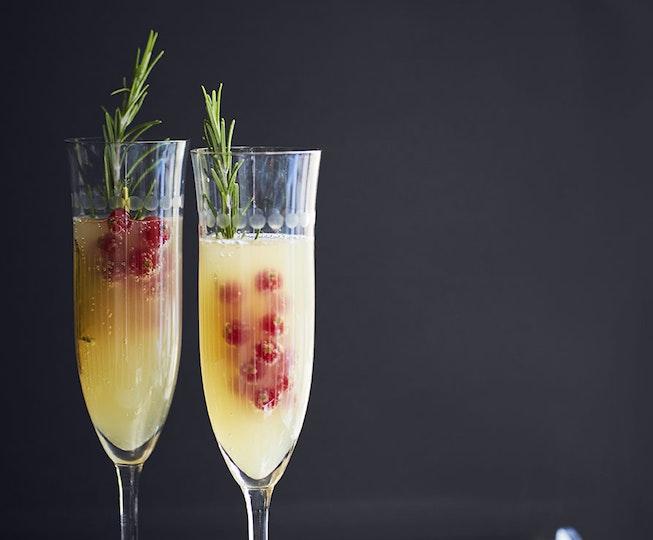 Pear & Ginger Bellini