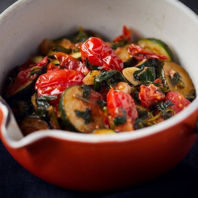 Punchy Courgette & Tomato Pasta Sauce