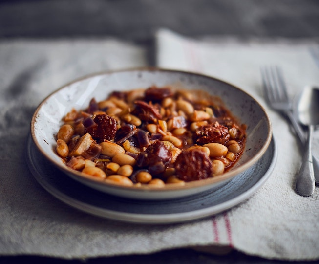 Chorizo, Butter Bean and Fennel Stew