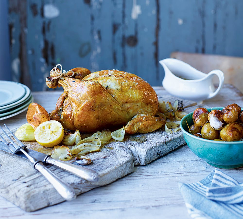 Thomasina Miers' Ultimate Roast Chicken