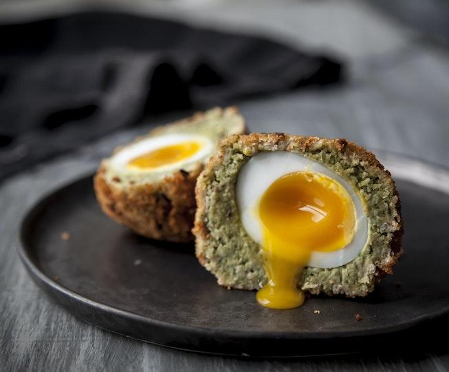 Falafel Duck Scotch Eggs