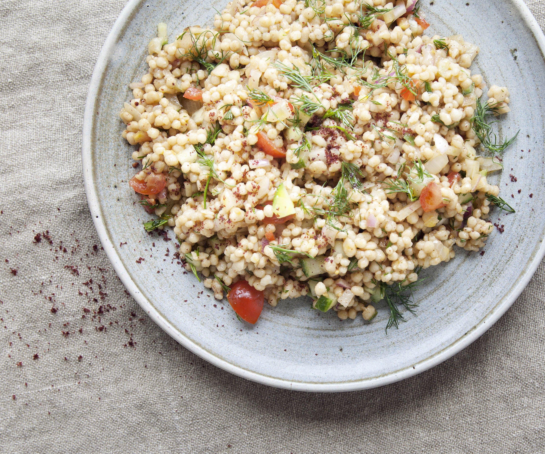 Maftoul Salad