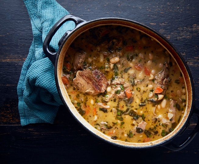 Pork and Cannellini Bean Stew