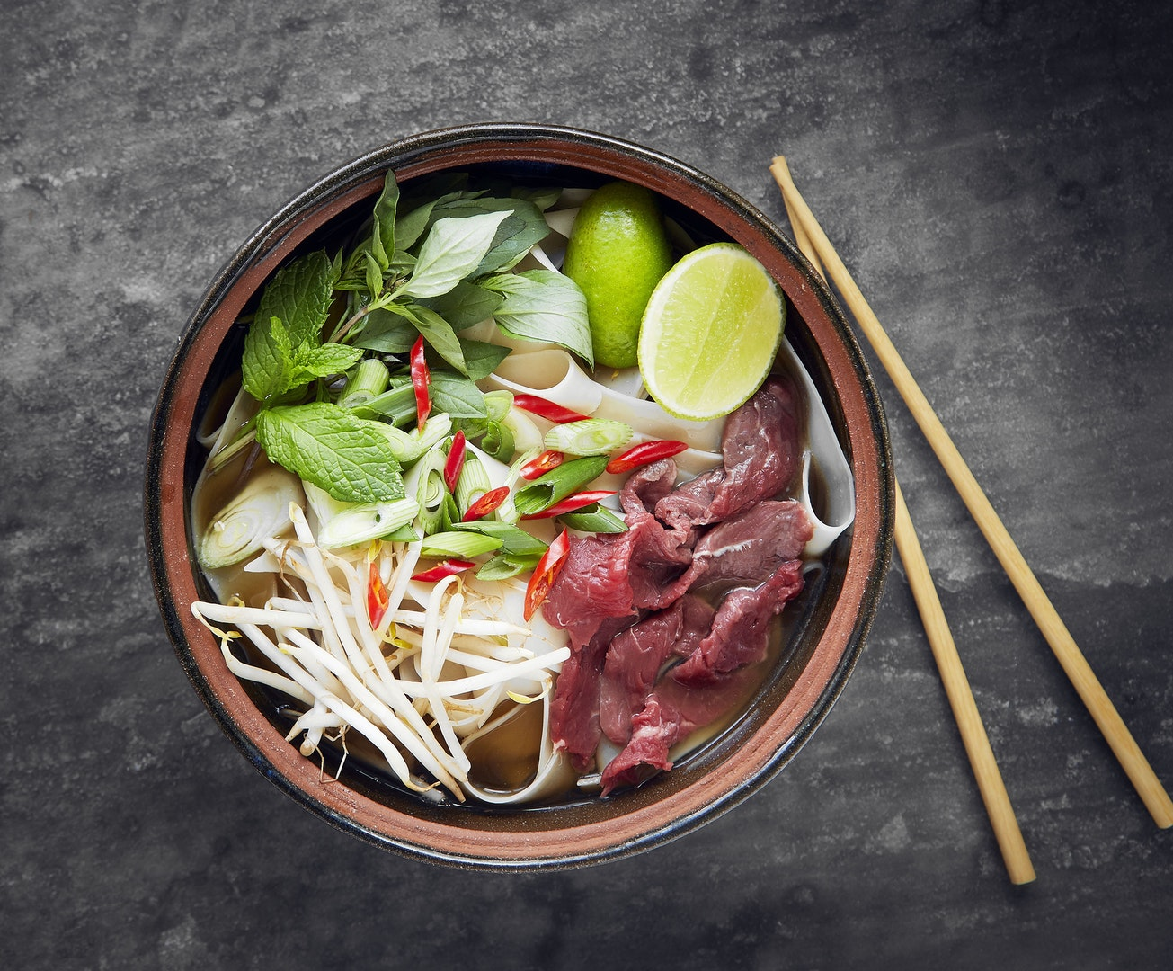 Vietnamese Beef Noodle Phở