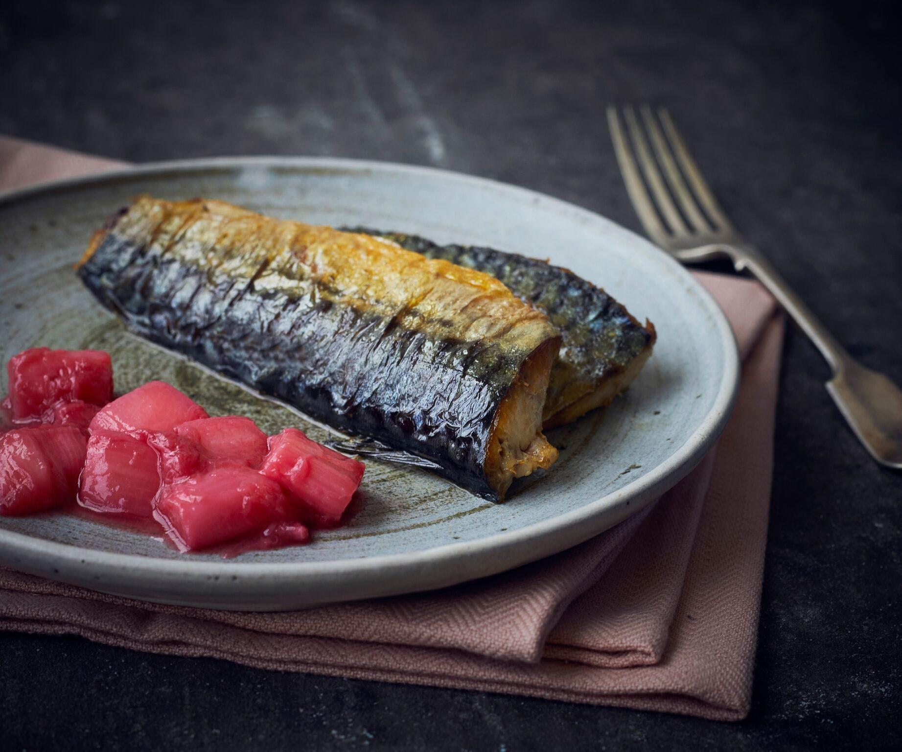 Mackerel and Rhubarb