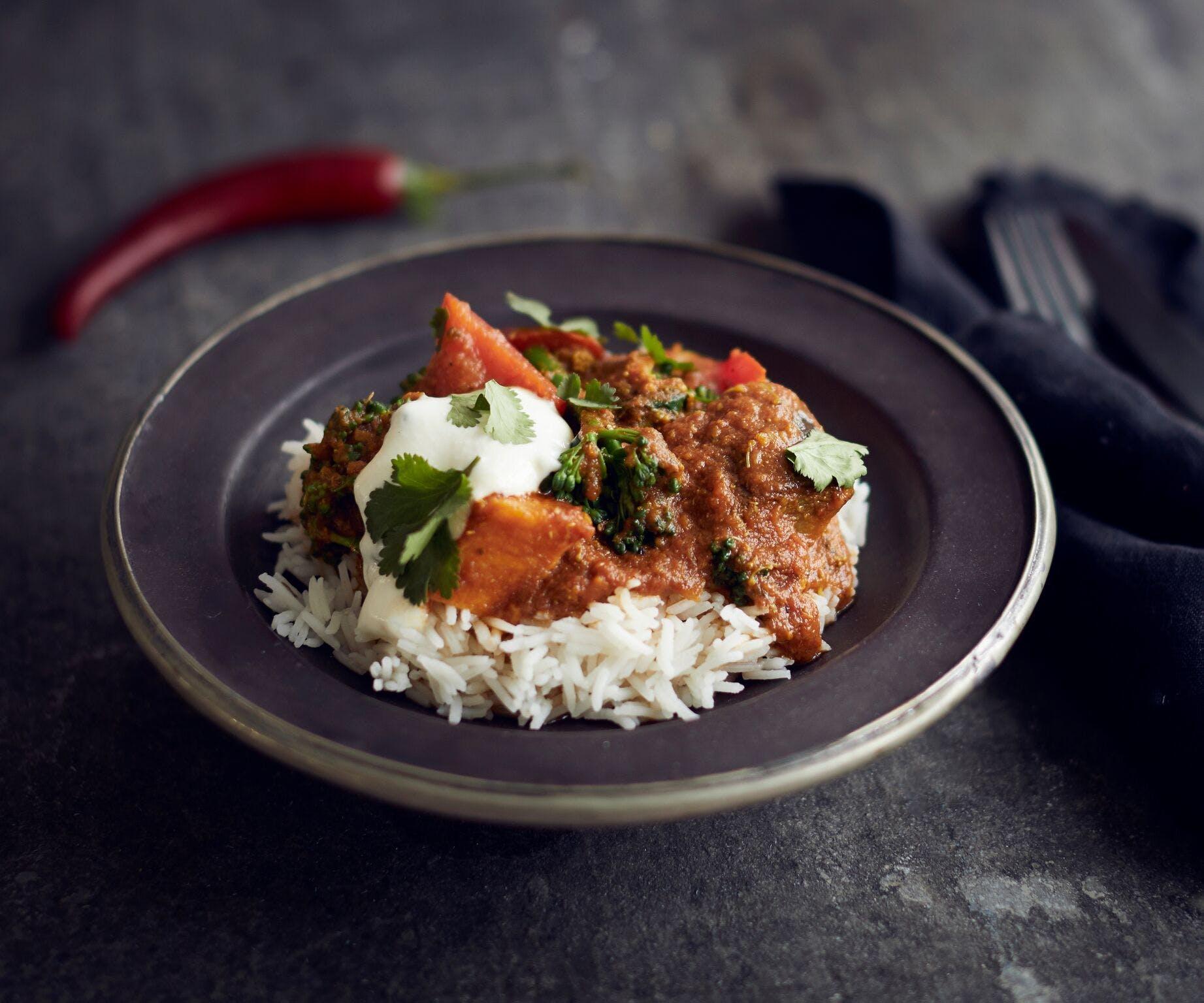 Easy Veggie Curry