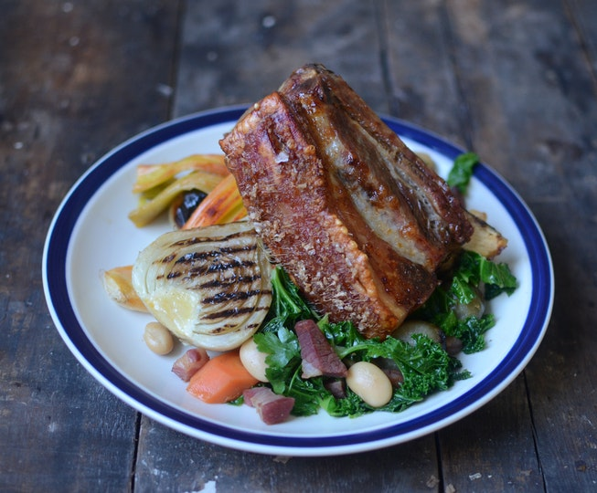 how to make pancetta from pork belly