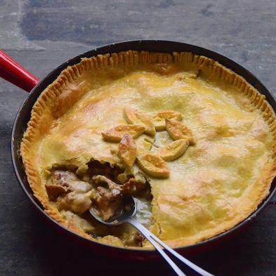 Forager's Chicken & Wild Mushroom Pie