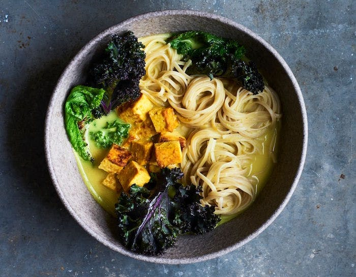Anna Jones' Turmeric And Kale Miso Ramen