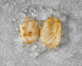 Sweet Chilli & Lime Monkfish Cheeks with Ginger and Garlic