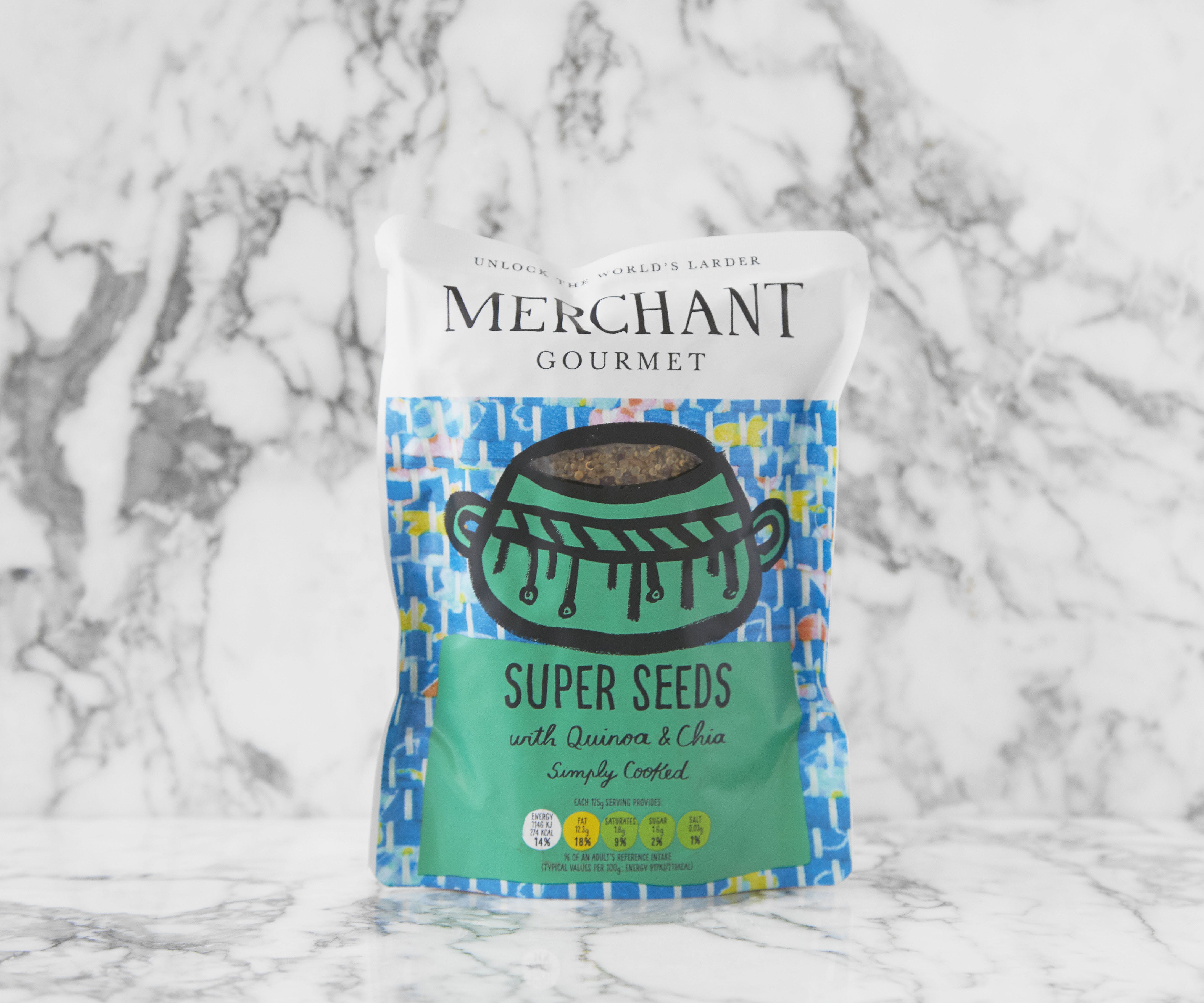 Super Seeds with Quinoa & Chia - Cooked