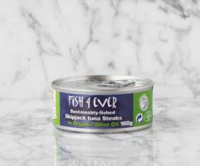 Skipjack Tuna Steaks in Olive Oil