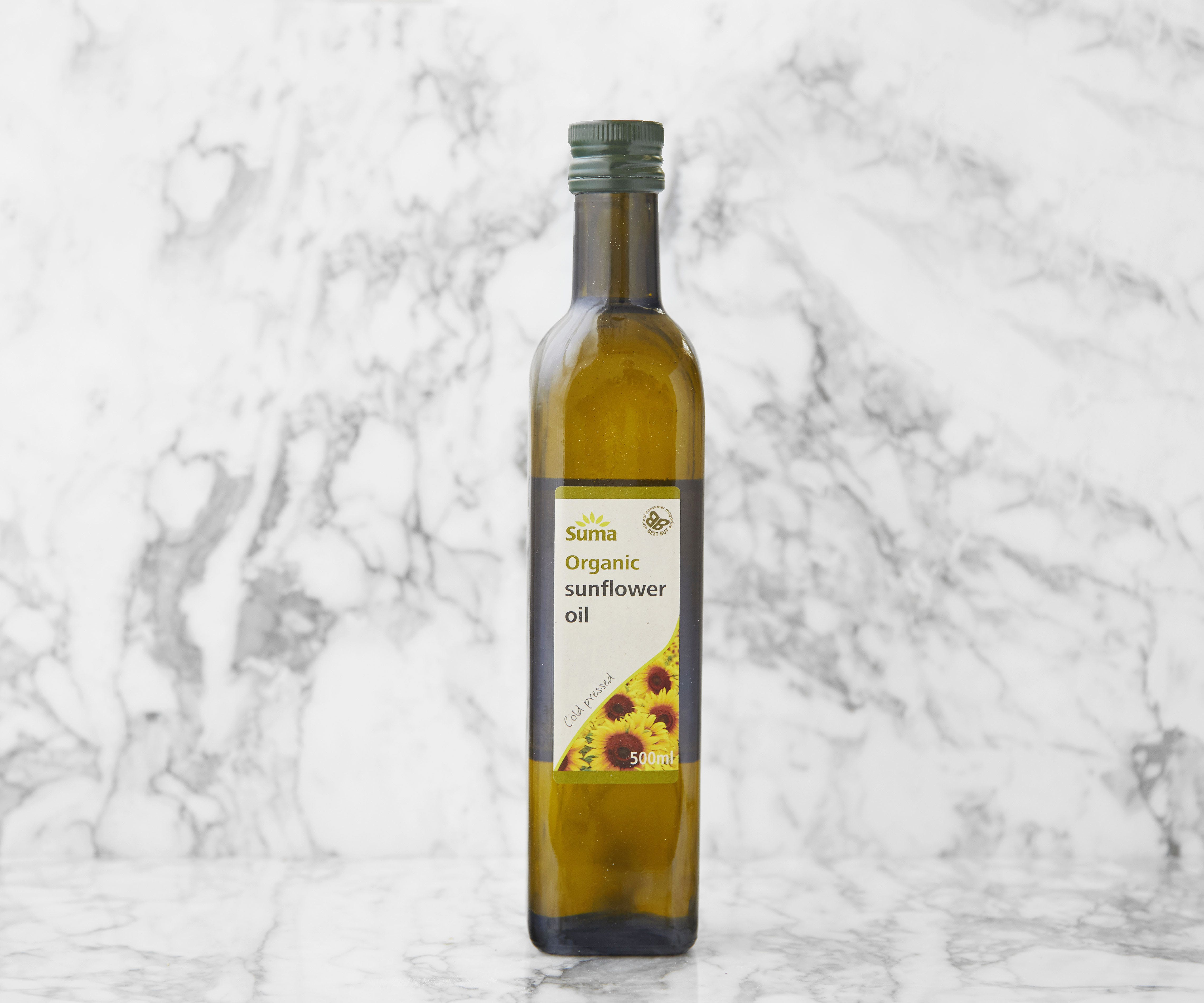 Organic Cold Pressed Sunflower Oil