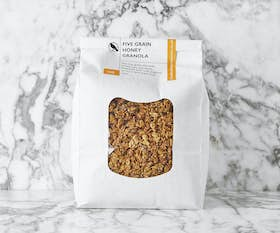 Five Grain Honey Granola