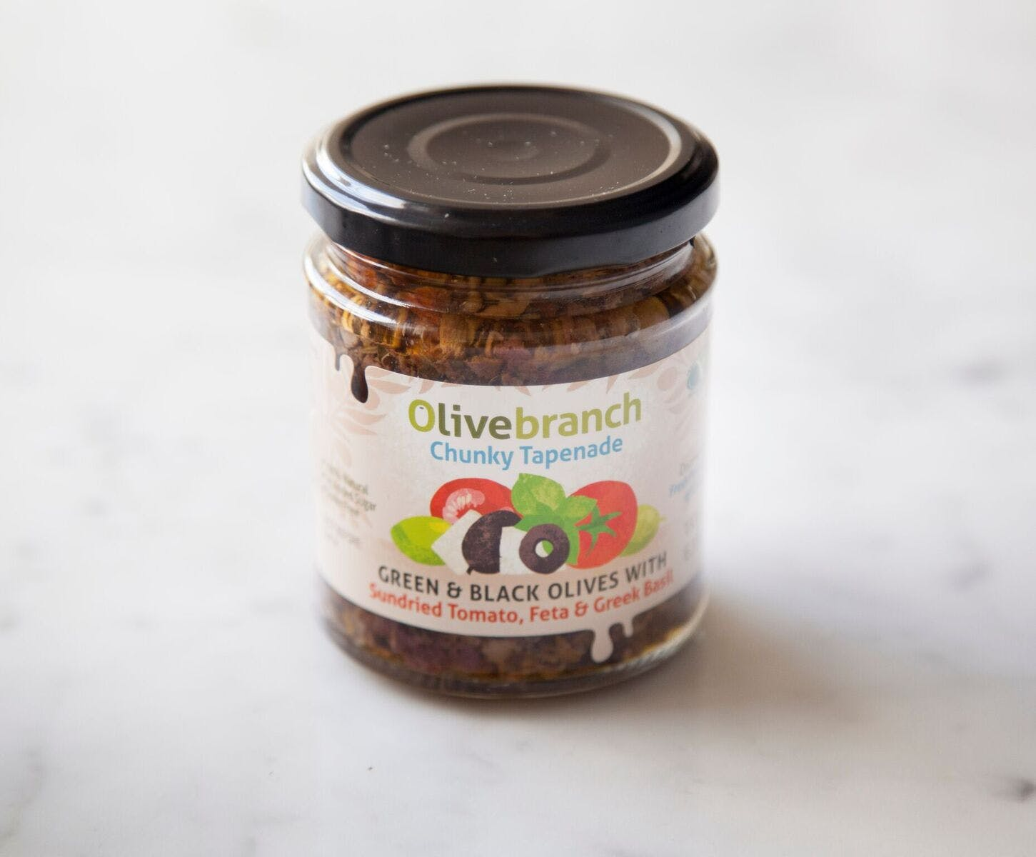 Chunky Tapenade (Green & Black Olives with Sundried Tomato, Feta & Greek Basil)