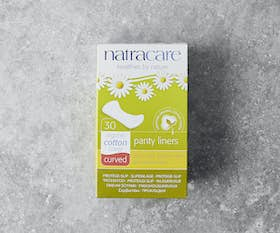 Natural Panty Liners - Curved