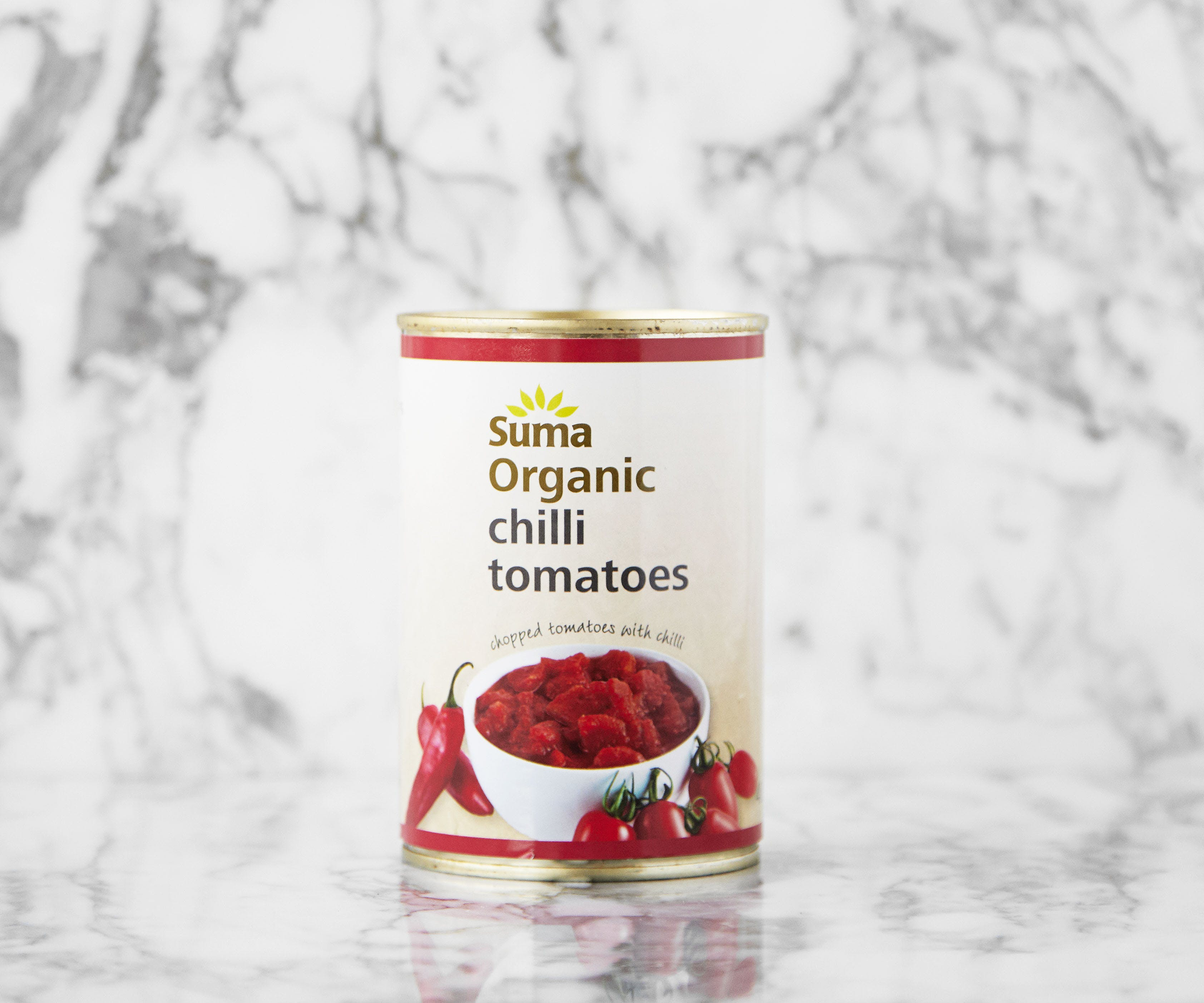 Organic Chopped Tomatoes with Chilli