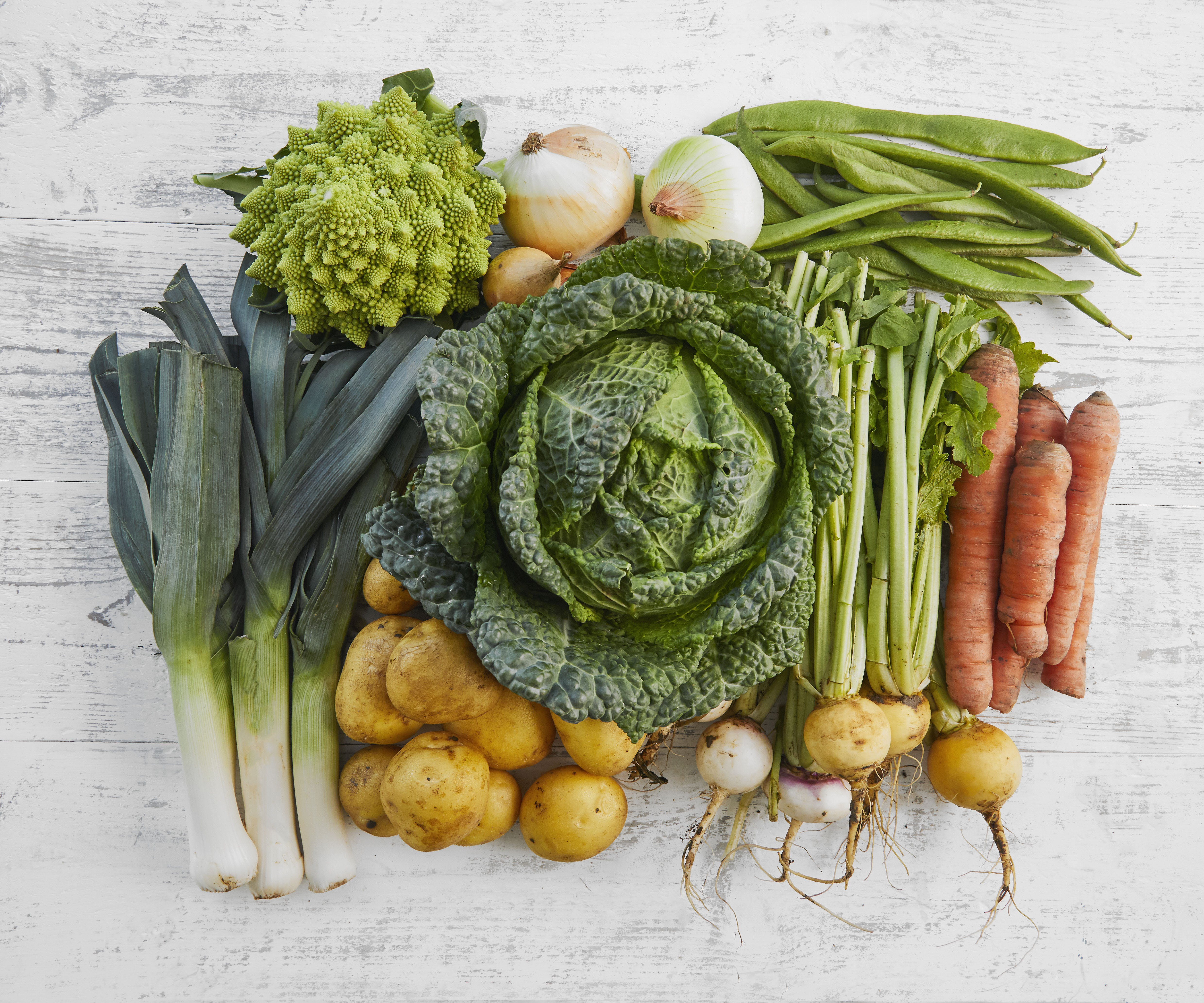 Purton Organic Family Veg Bundle