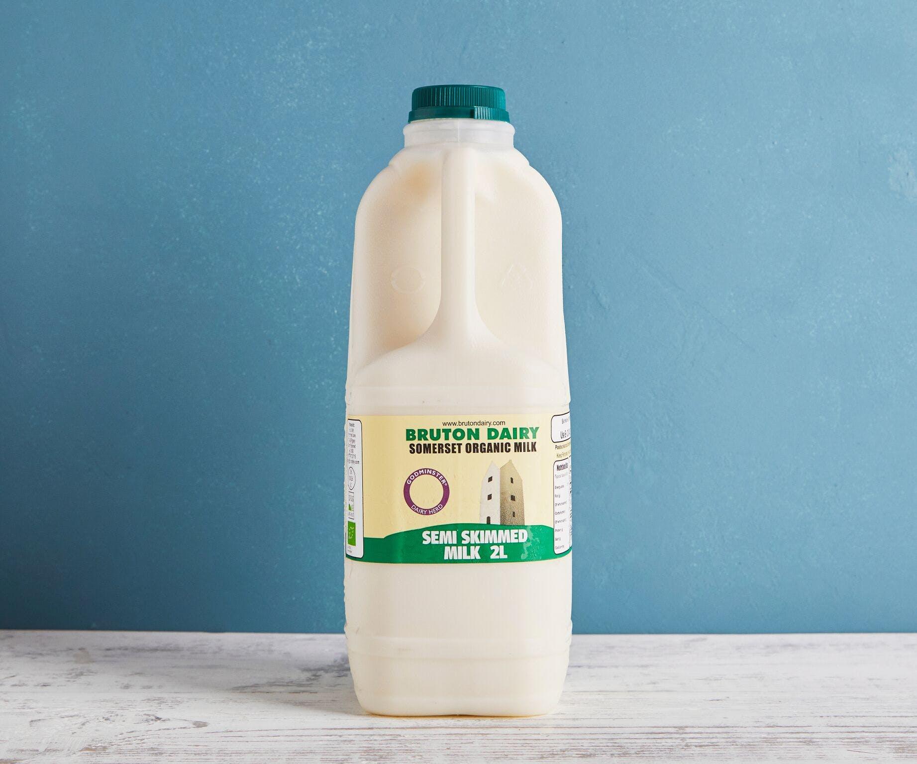 Organic Semi Skimmed Milk