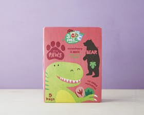 Bear Paws Multipack - Strawberry & Apple