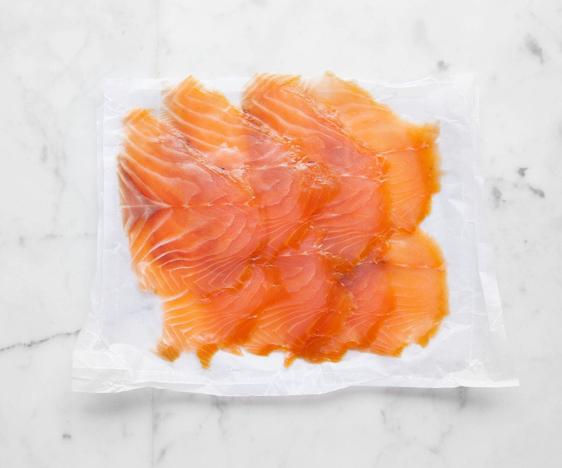Sliced Smoked Trout