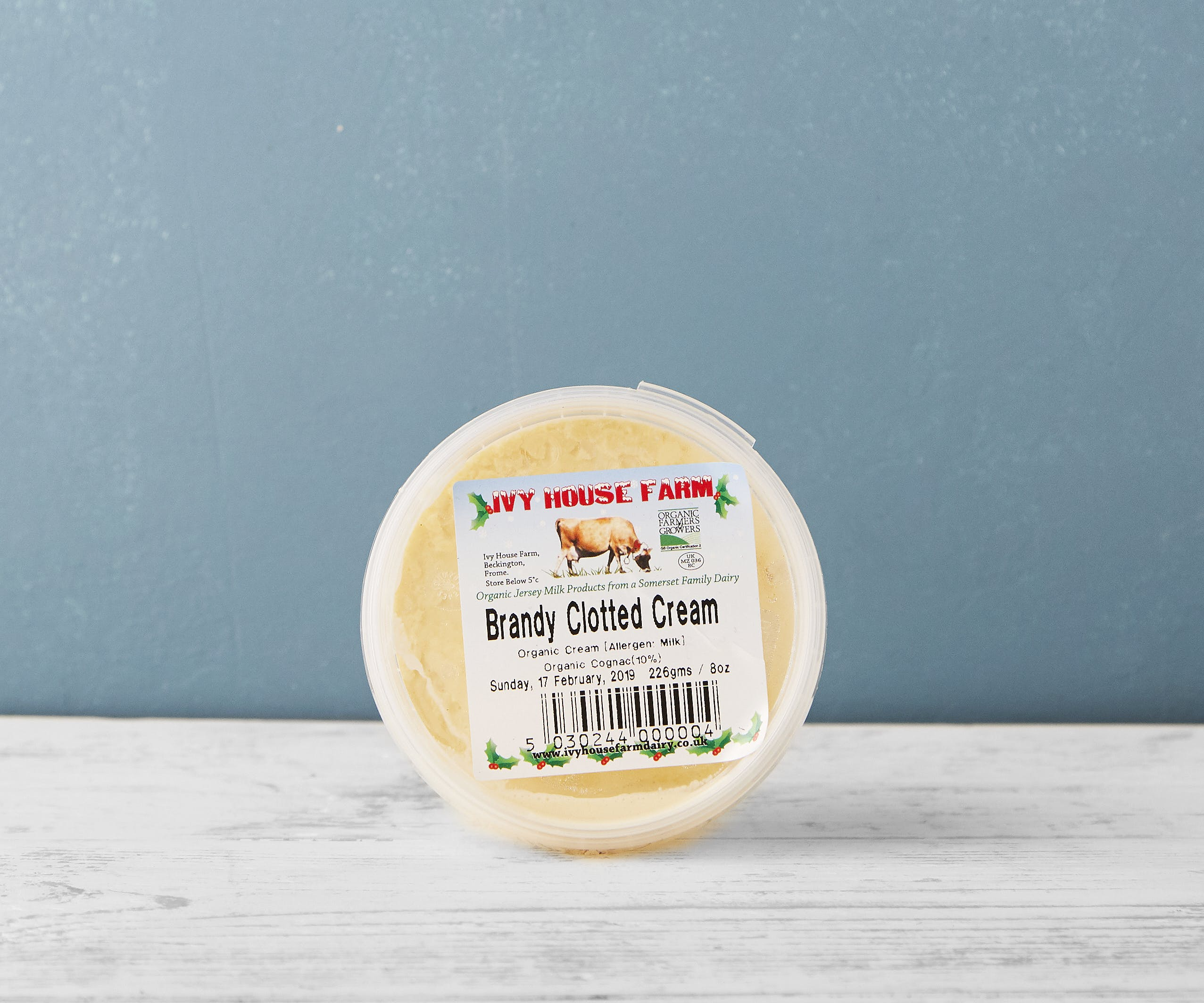 Organic Brandy Clotted Cream