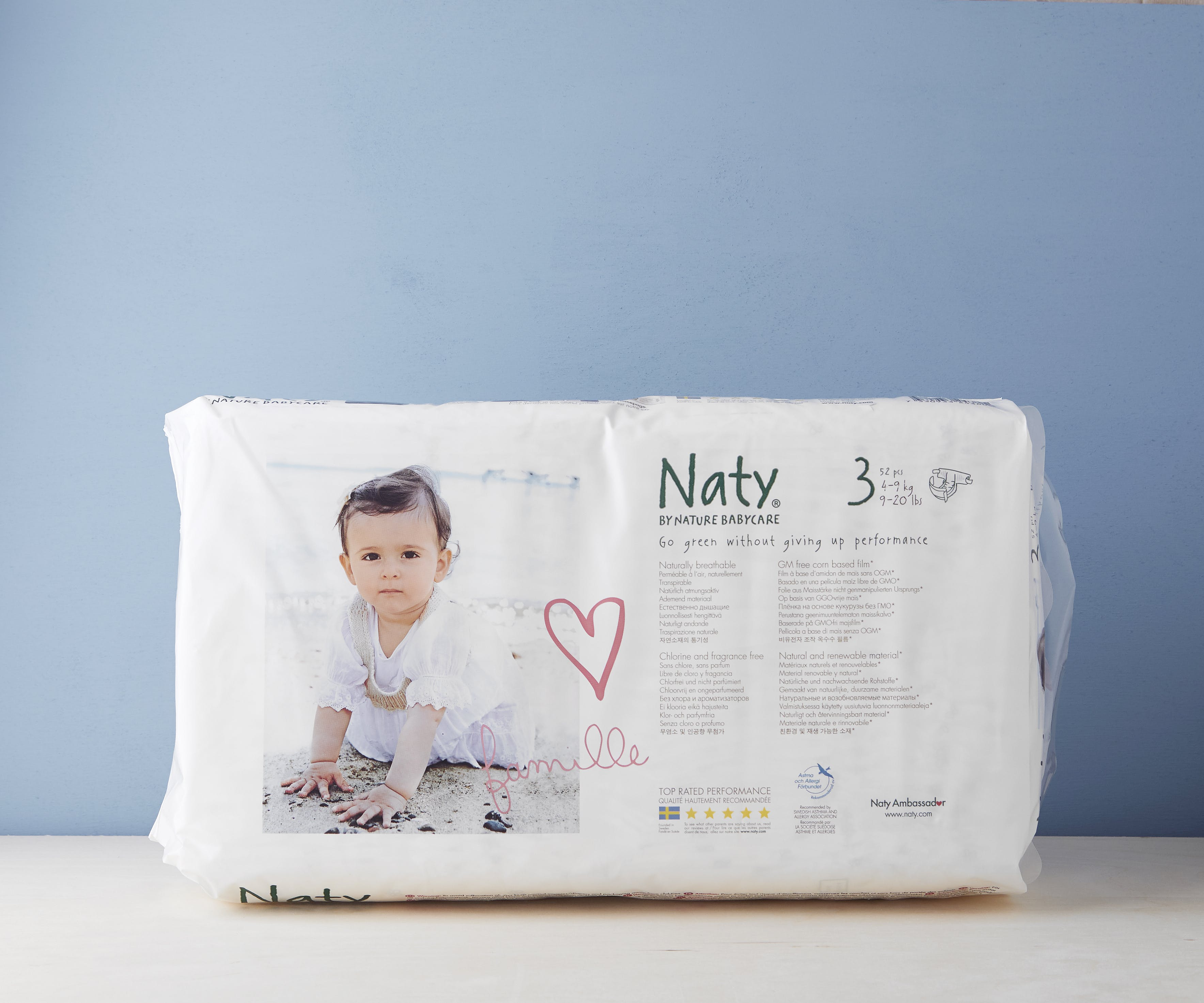 Small Nappies Size 3 (4-9kg)