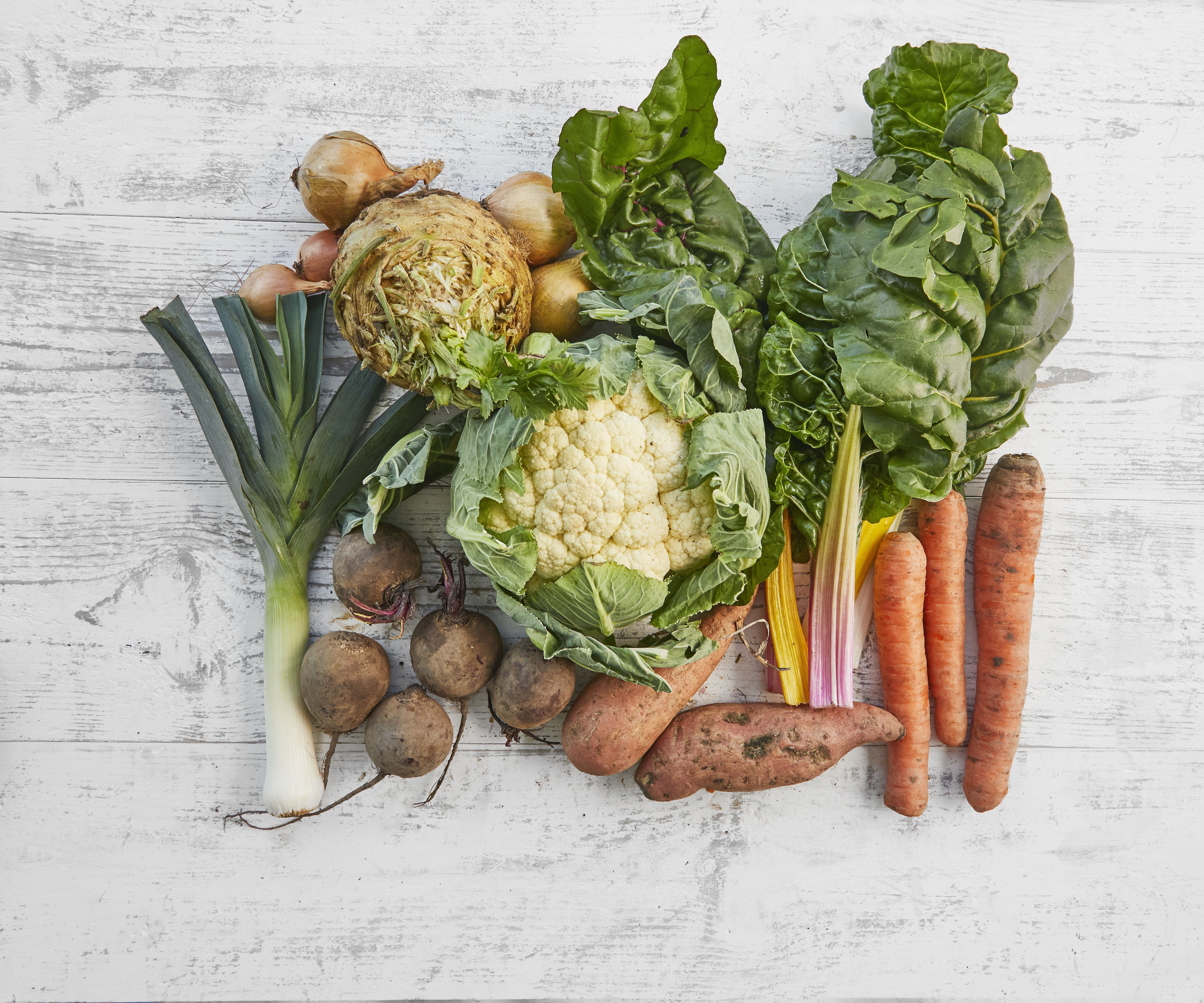 Purton Organic Small Veg Bundle (No Potatoes)