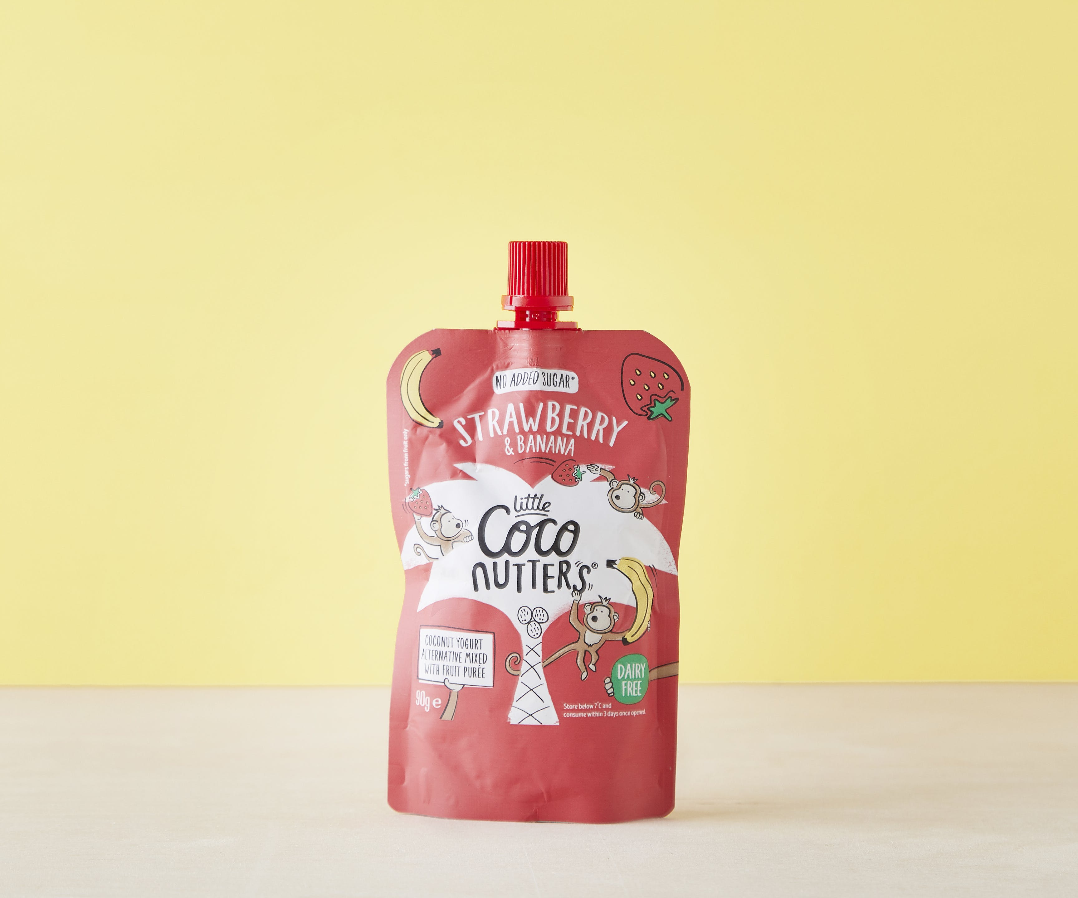 Little Coco Nutters Pouch - Strawberry & Banana