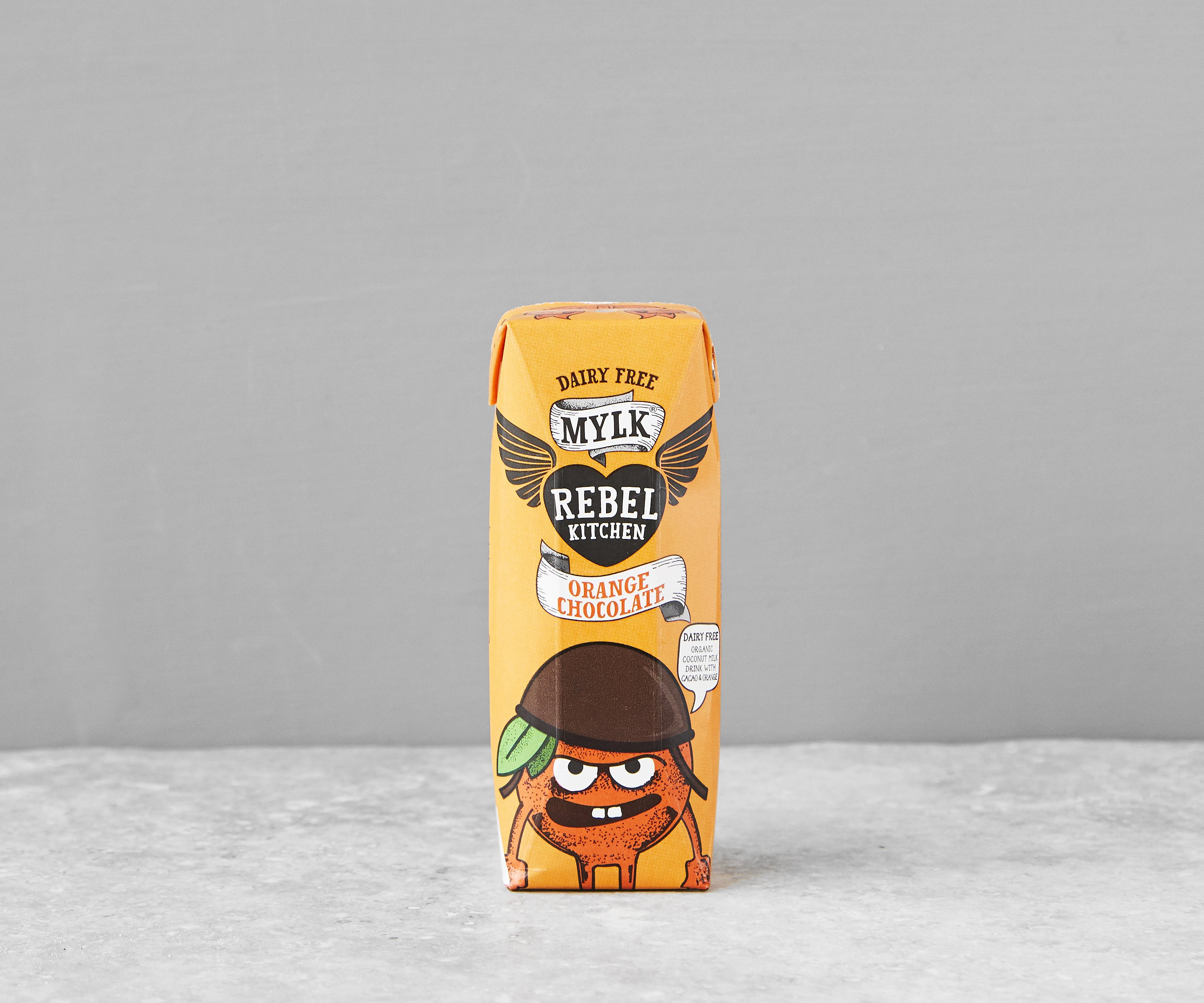 Rebel Kitchen Orange Choc Dairy-Free Mylk (Milk Alternative)