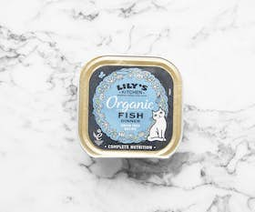 Organic Fish Dinner for Cats