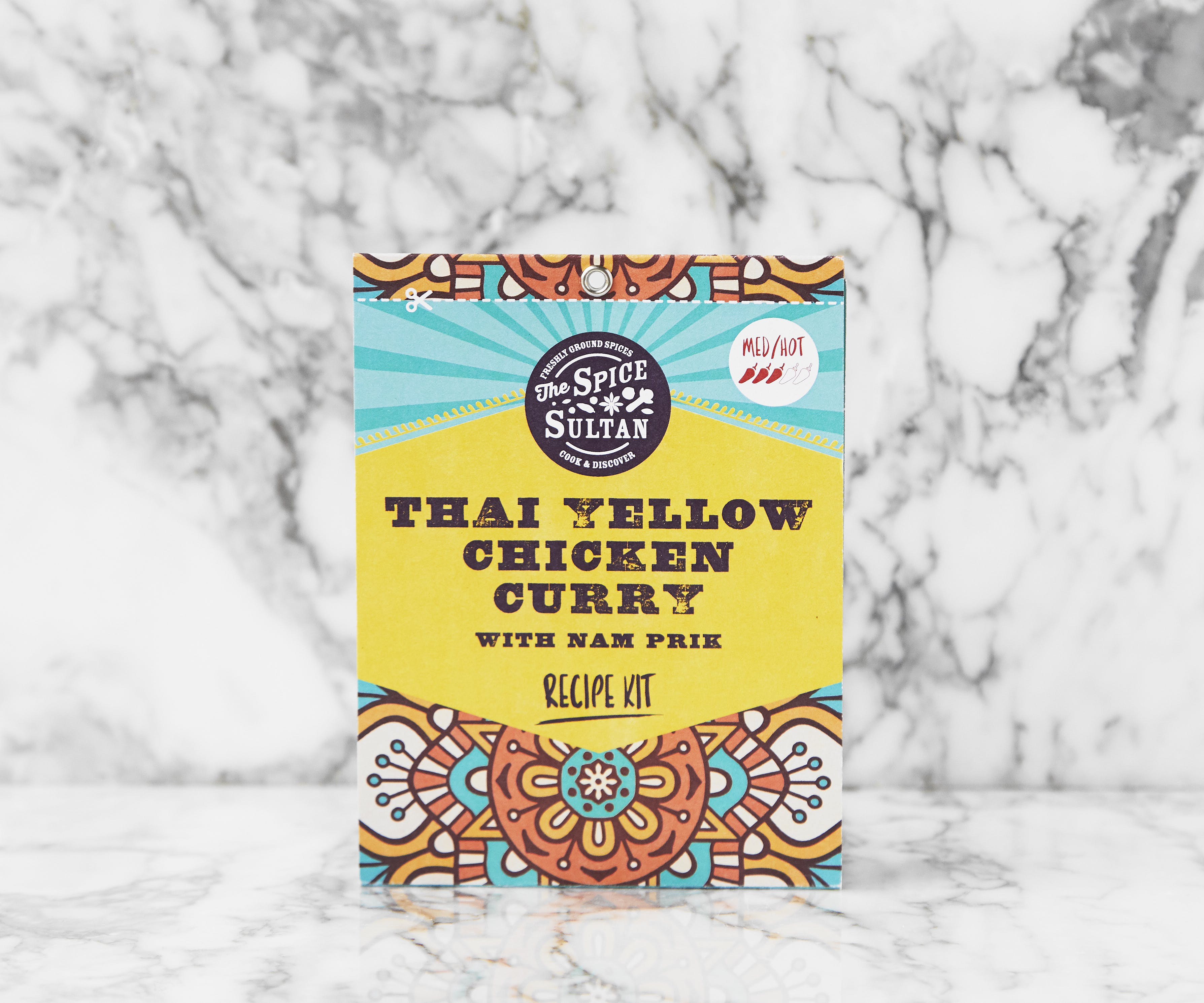 Recipe Kit - Thai Yellow Chicken Curry with Nam Prik