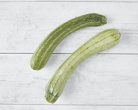 Organic Striped Courgettes
