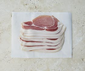 Dorset Dry Cured Back Bacon (Nitrate & Nitrite Free)