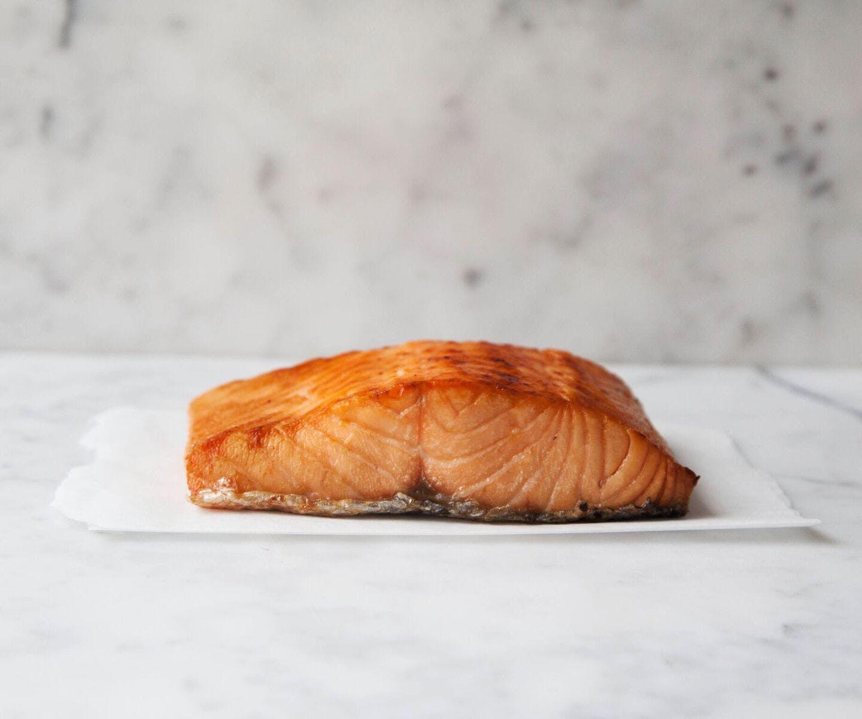 Maple Glazed Double Hot Smoked Salmon