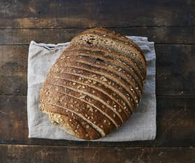 Organic Wholemeal Round Sliced