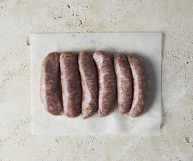Organic Traditional Country Pork Sausages