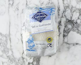 Sel De Guerande Salt Pack - Coarse Salt For Fish Salting