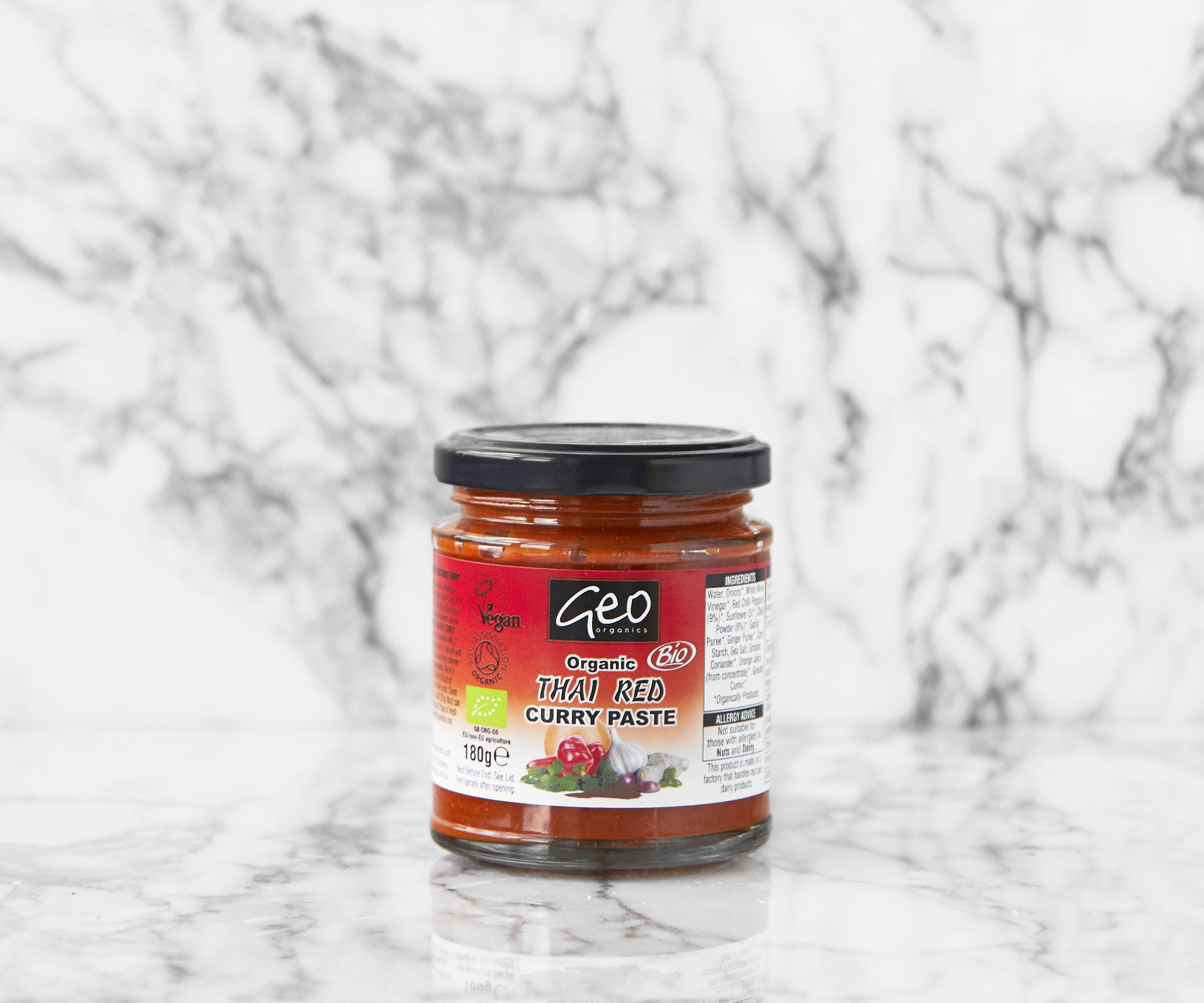 Geo Organics Thai Red Curry Paste
