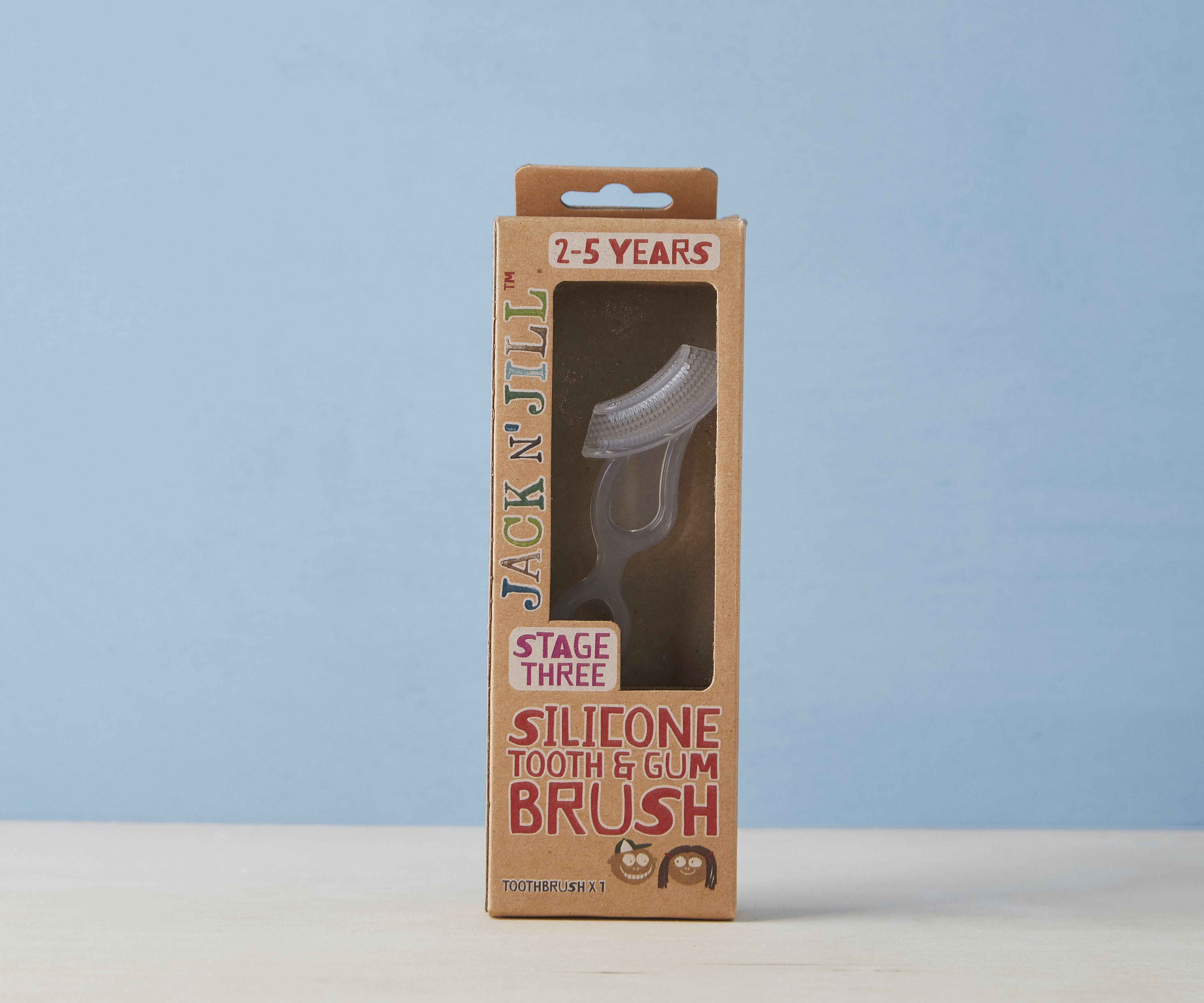 Baby Silicone Tooth & Gum Brush - Stage 3 (2-5 Yrs)
