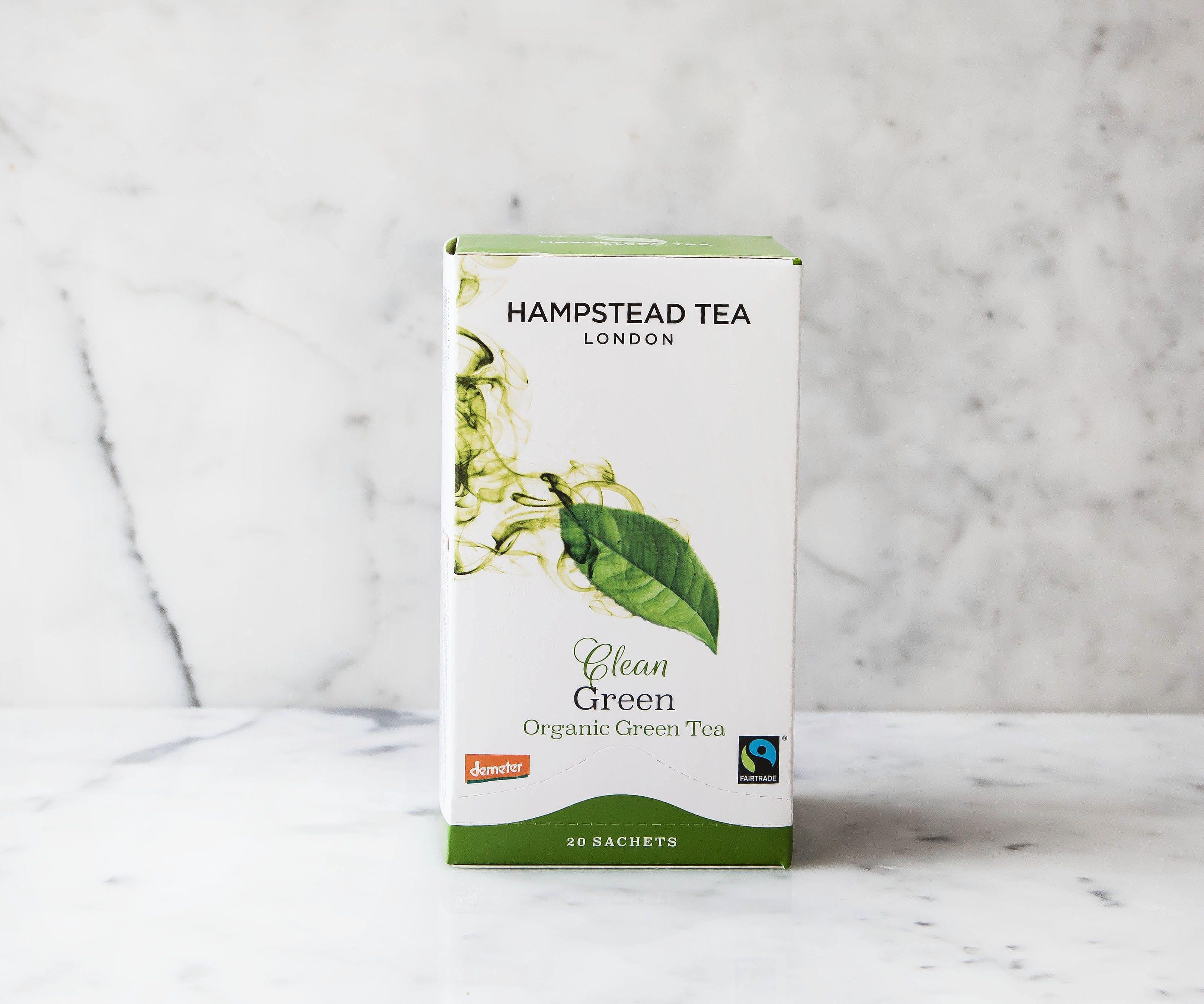 Hampstead Organic Clean Green Tea