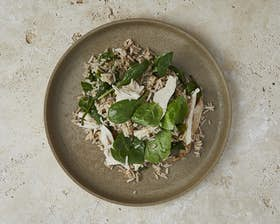 Turkey and Spinach Pilaf