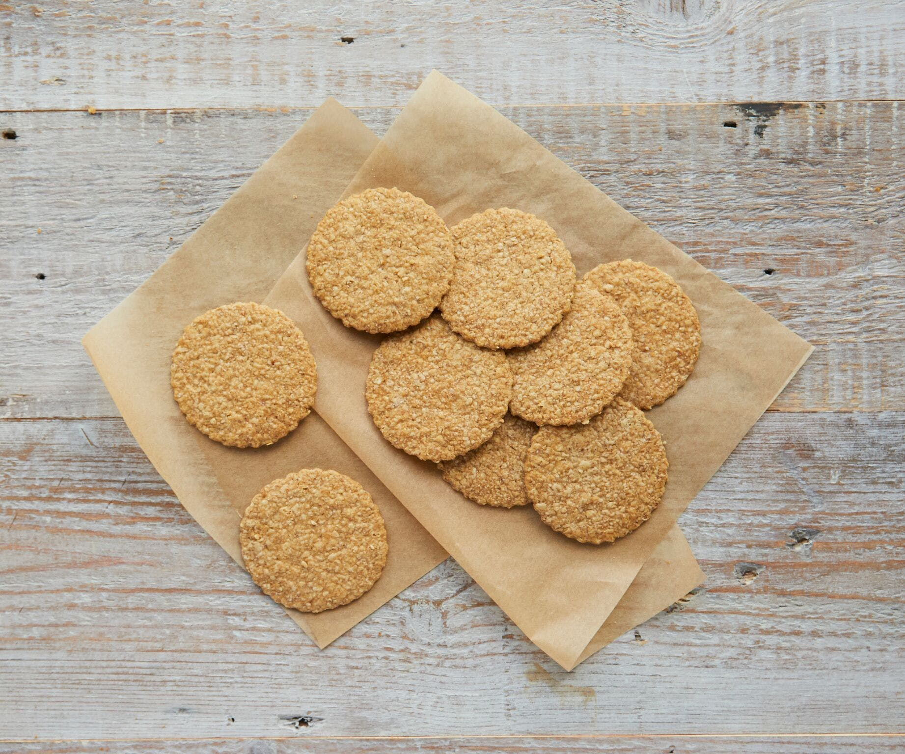 Oatmeal Savoury Biscuits