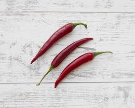 Organic Chillies - Red